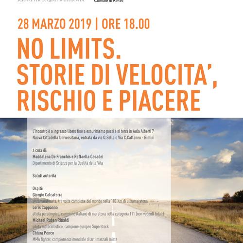 I giovedì del QuVi - No limits- 28 marzo 2018