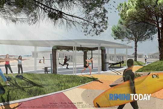 Un bando per realizzare le isole fitness nel Parco del Mare